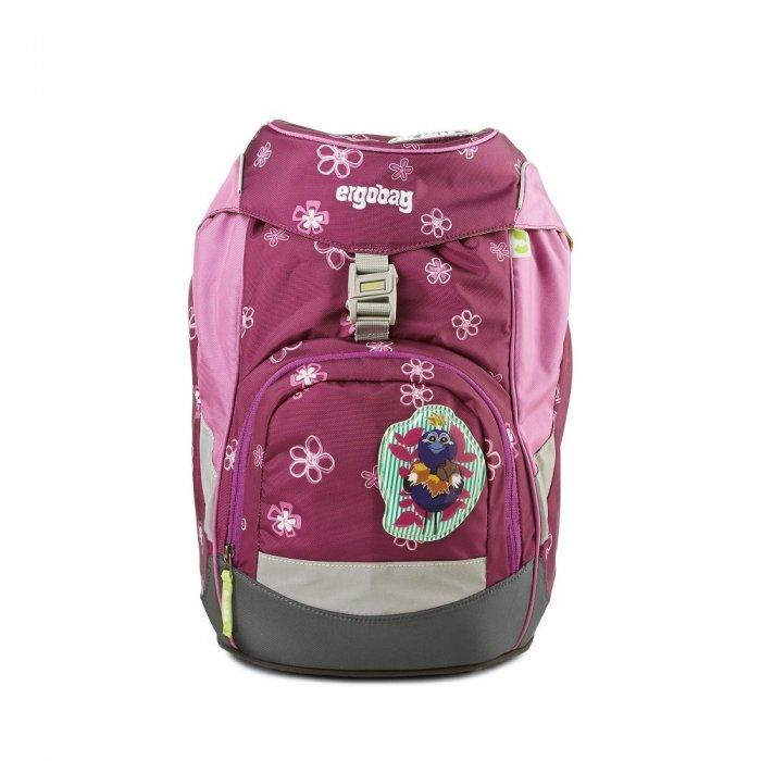 d8aa7f415c školská taška ergobag prime fialová- pohľad spredu