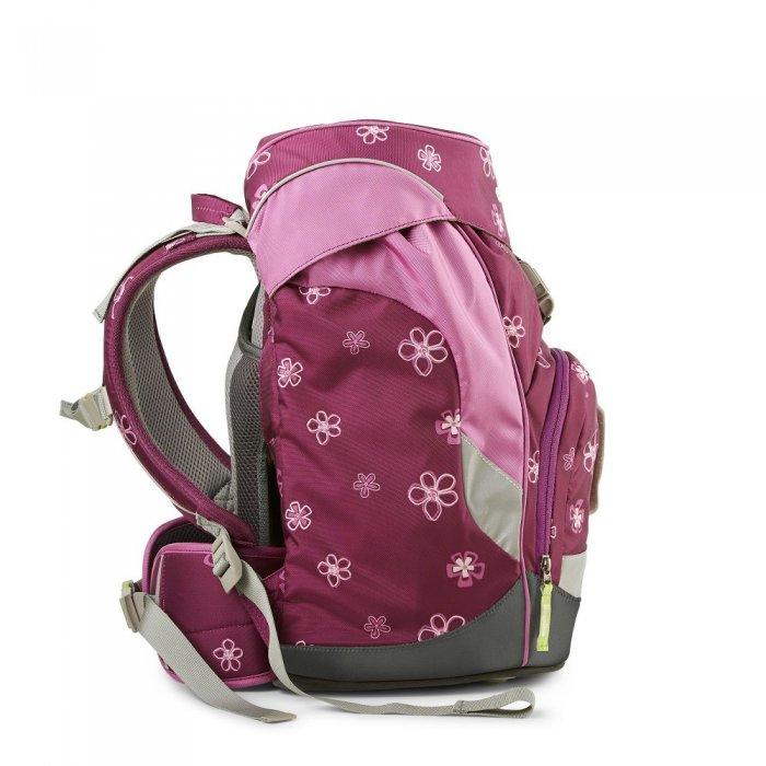 995d9a131a školská taška ergobag prime fialová- pohľad zboku